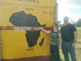 at the Equator
