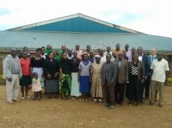 Seminar group from Kericho