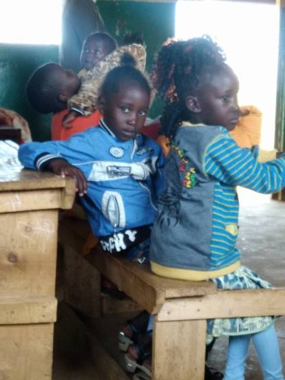 Children from Bondeni