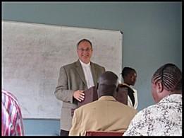 Thom preaching chapel